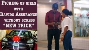Video: Zfancy Tv Comedy - Picking up Girls with Davido